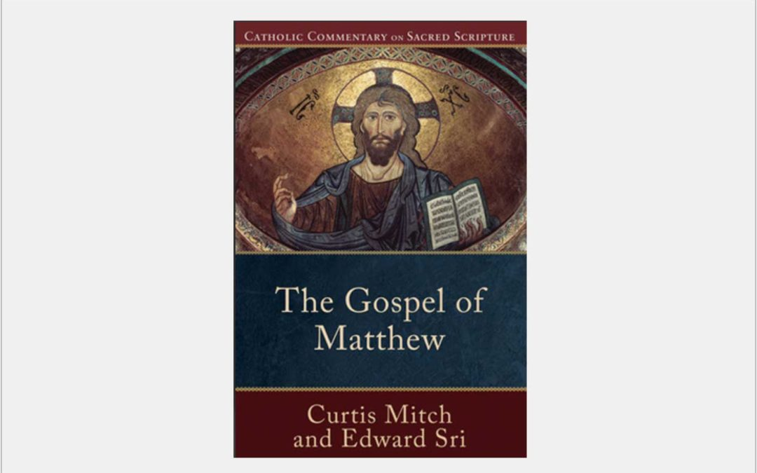 The Gospel of Matthew (coauthored with Curtis Mitch)